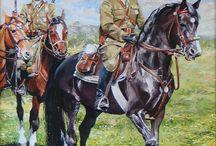 horses in oil painting / konie w moim malarstwie oil painting-horses