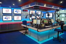 Marvelous Radio and Podcast Studios / Broadcasting. If you are in this world your mind will fly away!