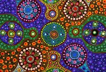 Aboriginal art inspiration