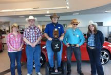 Western Day!!! / Today was Western day here at Grappone Automotive Group!!! Cowboy up!