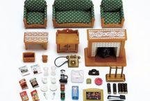 Sylvanian Families Luksusowy Zestaw do Salonu / Wyjątkowe zabawki dla dzieci marki Sylvanian Families