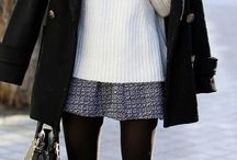 Looks de inverno com saia, short e vestidos