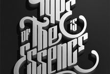 Type / by Dulce DotCom