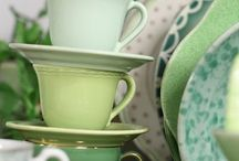 Lime Green Teacup!