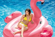 Summer Pool Party Essentials / Perfect pool floats for any summer pool party. We carry the most popular pool floats like the giant swan, watermelon slice, pizza slice, and many others (as seen on Instagram). Your pool party won't be complete without one of these.