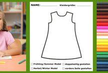 Kreative Ideen für Kinder / Gestalte, zeichne und trage deine Modeschöpfung! Mit uns könnt Ihr euer selbstgestaltetes Kleid tragen! Holt eure Farben raus und dekoriert unsere Vorlage wie es euch gefällt, wenn du fertig bist machst du ein Foto und schickst es uns zu! Bald erhältst du deine eigene Modeschöpfung zu dir nach Hause!