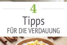 Tipps für die Verdauung