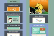 SEO Infographic /  Grab the latest infographics about SEO