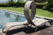 Luxury Sun Loungers / #LuxurySunloungers #Designerunloungers #NardiSunloungers #Skylinedesignssunloungers #SkylineDesignsGArdenfurniture