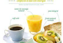 Desayuno saludable / Para cuidar la salud