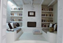Bibliotheca and tv room