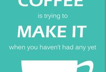 Coffee Sayings and Posters