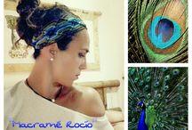 Macramé. El arte en mis manos. Turbantes basados en la Naturaleza. / El arte de los nudos