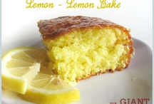 Lemons are so lovely! / by Becca {Crumbs and Chaos}