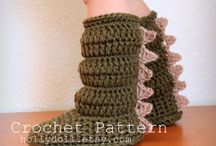 Crochet boots / Find crochet patterns and inspiration for your projects.