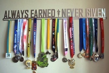 Race Medal Display Ideas