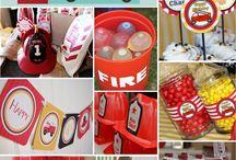 cumpleaño de bombero