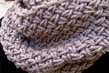 cuellos / tejidos a crochet