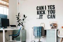 Workspace Inspiration / Workspace goals. Design that makes us happy.