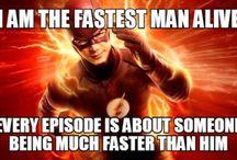 the flash/ arrow etc