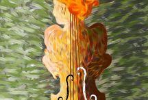 Instrumental painting
