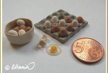 Mini Tutes Food / Tutorials for making miniature food