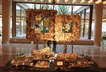 ROME CAVALIERI WALDORF ASTORIA / collaborazione, progettazione e realizzazione di qualcosa di unico!!! flowers#design##