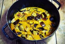 aubergines curry