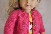Doll pattern cardigan
