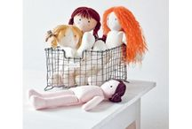 Sewing dolls / Ideas and patterns for sewing fabric dolls
