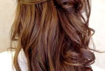 Prom Hair / Up dos, long hairstyles and red carpet glamour.  Inspiration for your ultimate prom hairstyle