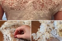 Lace / At work with the finest lace
