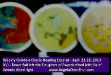 Weekly Goddess Oracle Card Reading