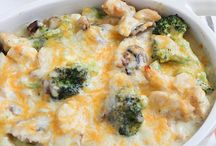 Casseroles / One dish dinner