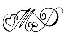 Tatuaggi con iniziale