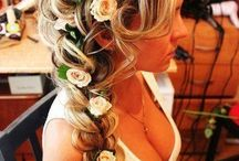 hair from wedding