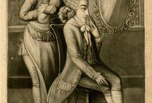 The Macaroni / Meet the Macaroni, an 18th-century forerunner of the English dandy.  / by Melanie Grundmann