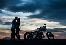 Couple & moto