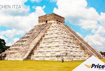 Chichen Itza / Zona arqueológica de Chichen Itza en Yucatán