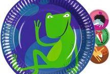 Anniversaires thèmes animaux / Si vos enfants aiment les animaux, que se soit de la Ferme ou de la Jungle à La Récré C'est Party, vous trouverait votre bonheur.