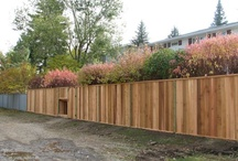 Fences / A beautiful fence completes a property in style. We can build new or replace existing fences in any material and style you want! Choose from metal, aluminum, cedar, spruce, pressure-treated or chain-link, our fences are made to last with cemented posts and top quality hardware included. Custom designs our specialty. Increase your property value and add privacy and keep your pets in the yard with a beautiful functional fence.