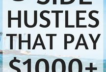 Side Hustles / Side Hustles to help make Passive Income or just some Extra Side Money.