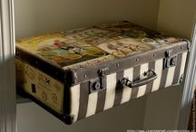 reclaimed suitcases