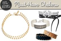 Choker Necklace Lookbook / The best of 90's fashion is back, and it's better than ever! Chokers are a hot trend in celebrity style, and we're happily getting on board as well.
