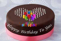 Torták - születésnap