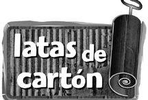 Editorial Latas de cartón / Libros ilustrados de la editorial Latas de cartón.