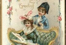 ретро открытки..