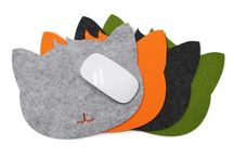 Cat Mousepads / It's a game of Cats and Mice-decorate and personalize you working space with cute and adorable Cat mouse pads from our collection.