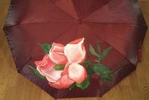 Зонтики с росписью / авторские зонтики