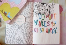 Journaling / Inspiring journal pages.